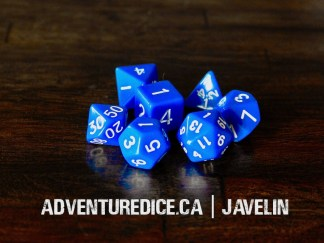 Javelin dice set