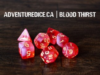 Blood Thirst dice set