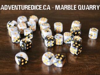 Marble Quarry 24 PK D6 Dice Set