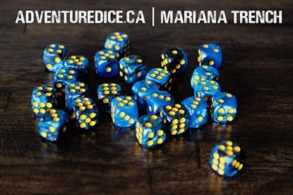Mariana Trench 24 PK D6 Dice Set