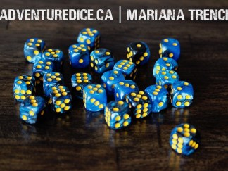 Mariana Trench 24 PK D6 Dice Set