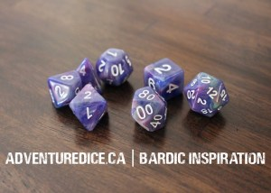 Bardic Inspiration dice set