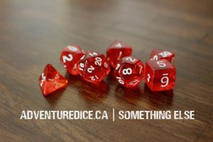 Something Else dice set