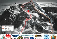 West Buttress - Primele bagaje la Camp3 (4389m - 14399ft)