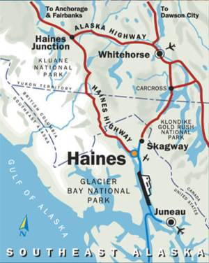ヘインズの地図