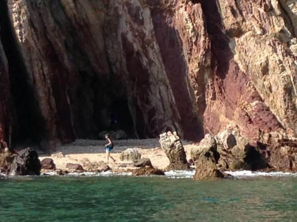 鬼手岩の写真