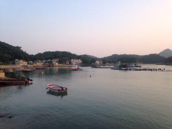 吉墺の港の写真