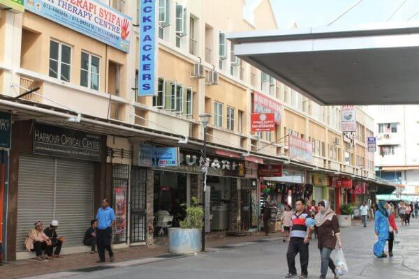サンダカンの街の写真