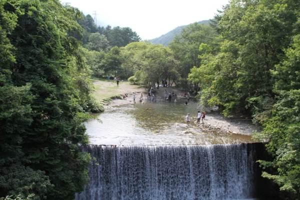 烏川渓谷緑地滝の写真