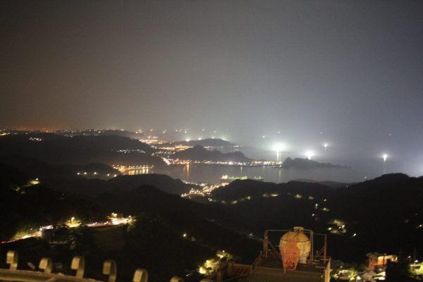九份の夜景写真