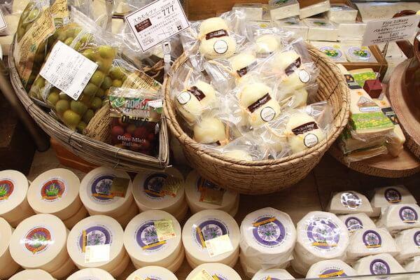 チーズ販売の写真