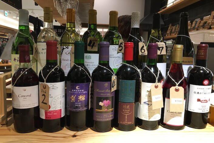 長野ワインの写真