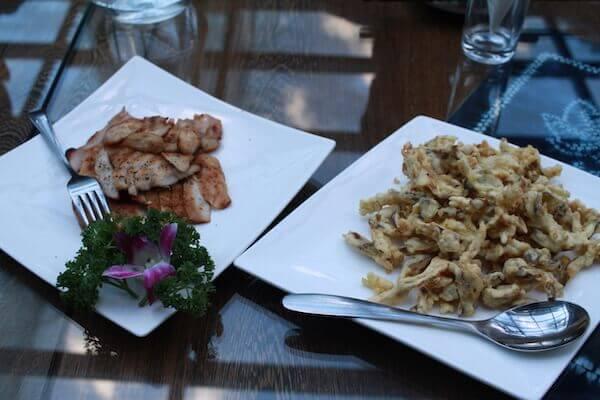 リンデンセンターの食事の写真
