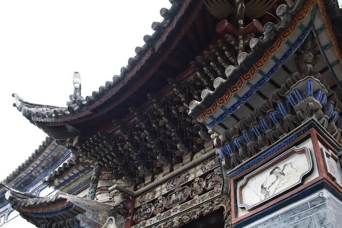 白族の伝統的建築物のアイキャッチ画像