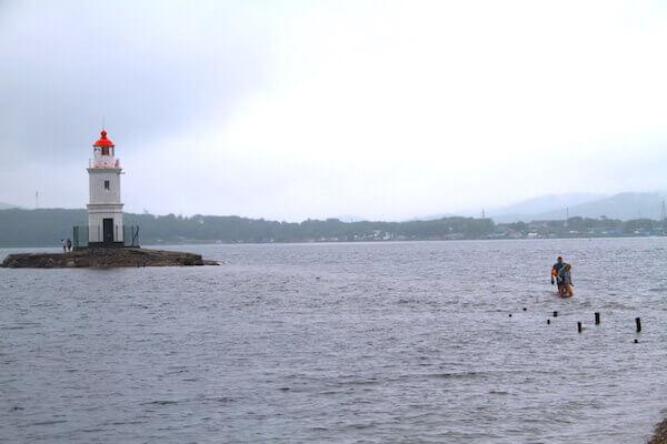 トカレフスキー灯台の写真