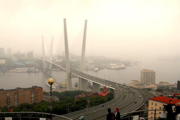 金角湾大橋の写真