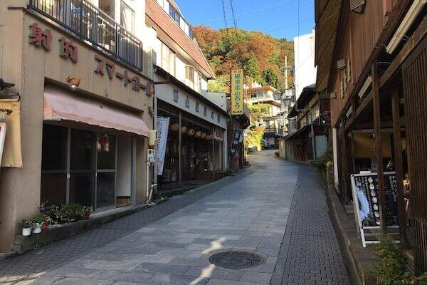 渋温泉の写真