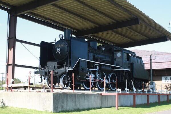 ポッポのモデル機関車の写真