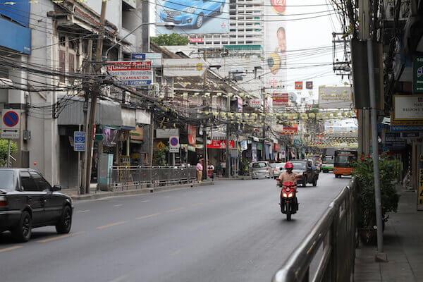 バンコクの街の写真