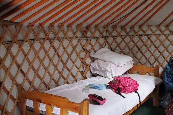ゲルのベッドの写真