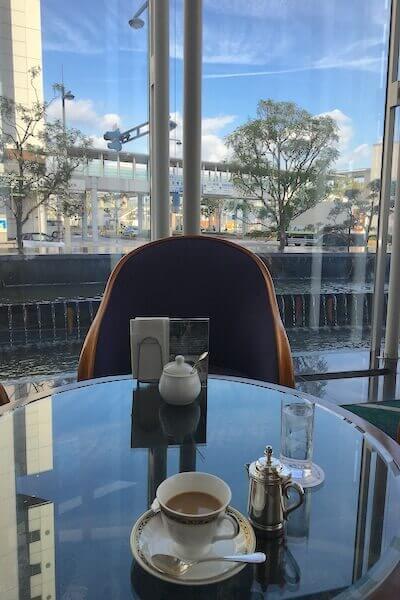ホテルのカフェの写真