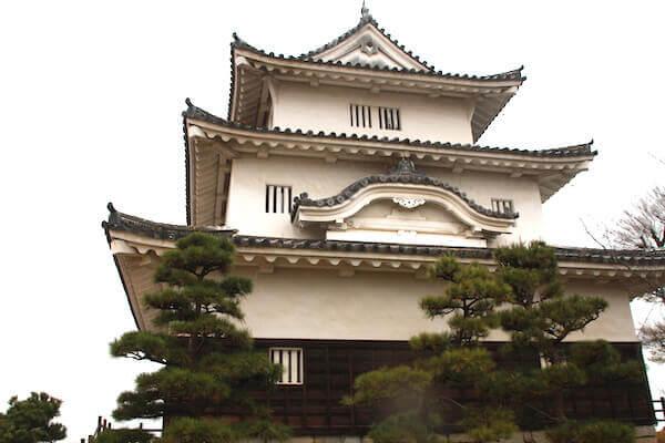 丸亀城本丸の写真