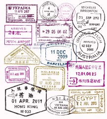 vector-passport-stamps-color-travel-theme-background-35037657