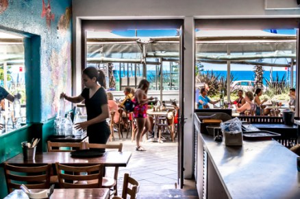 Cafe at Bondi