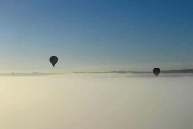 Hunter Valley balloon flight