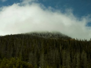 Driving through the mountains is always beautiful! Especially when you're level with the clouds!