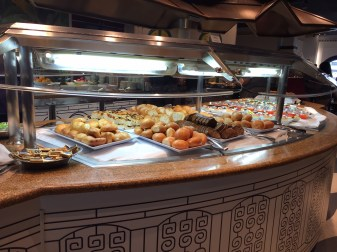 One area among many for the buffet