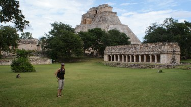 Uxmal Ruins near Merida, Mexico