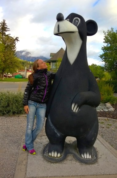 Jasper the Bear in Jasper, Alberta.
