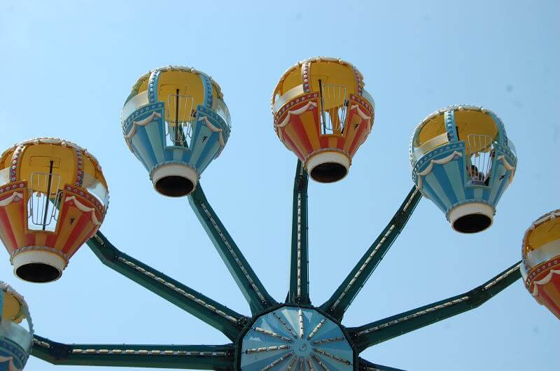 Ferris Wheel  Adventureland Amusement Park Long Island