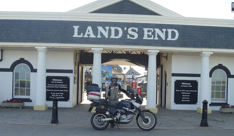 Motorcycle Touring in the UK - Lands End