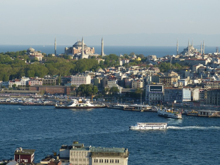 Motorcycle Touring in Turkey - Istanbul