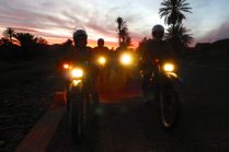 Not more night riding!