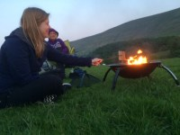 La Hacienda Camping Firepit - Review - Adventure Mummy