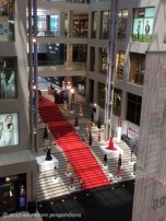 The Pavilion Mall had an exhibit of 60 years of Italian designers.