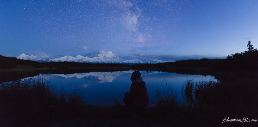 Mount Denali viewed from the Reflection Pond
