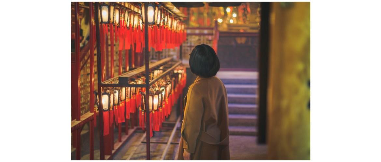 Man Mo Temple, Hong Kong street portrait photography