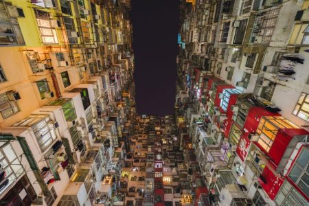 Urban density, Hong Kong