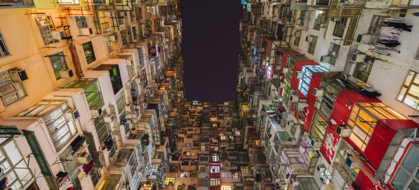 The Monster Building, Quarry Bay, Hong Kong
