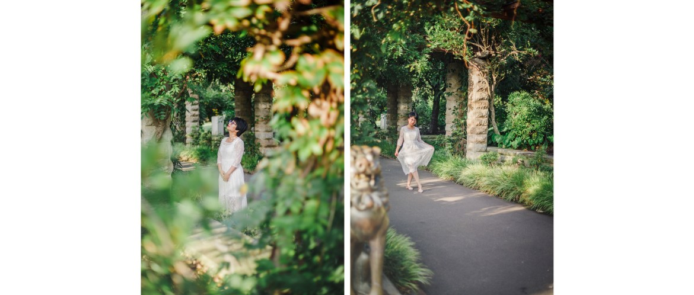 Royal Botanic Garden portrait photography