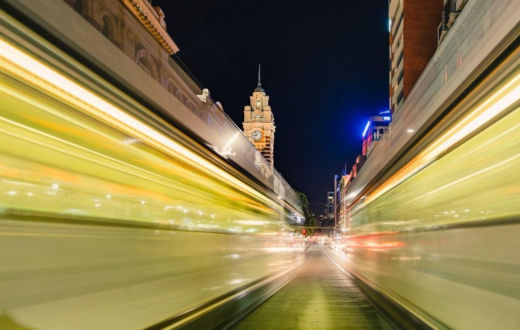 Melbourne Night train