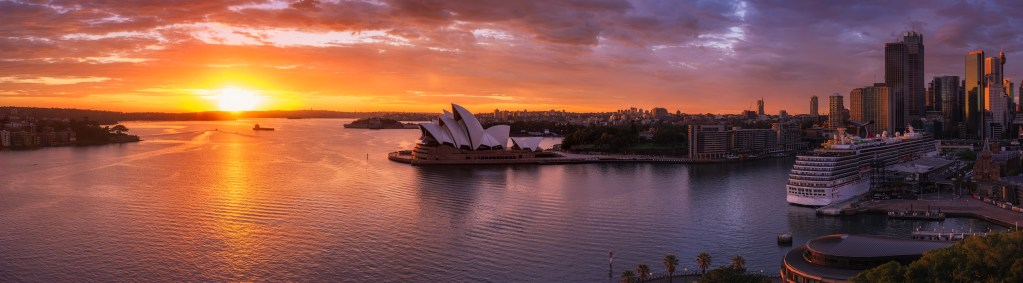 Sunrise in Sydney