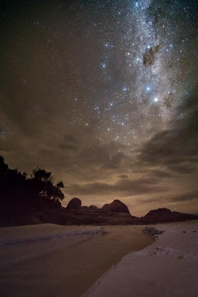 Wilsons Promontory night landscape
