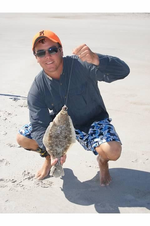 Another flounder at lea island