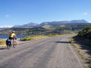 Biking across America by Pueblo, Colorado