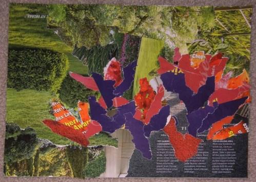 Loosen Up with Torn Paper Collage. Ellen Lindner, AdventureQuilter.com